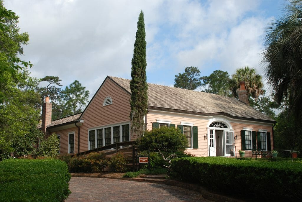 Manor home at Alfred B. Maclay Gardens