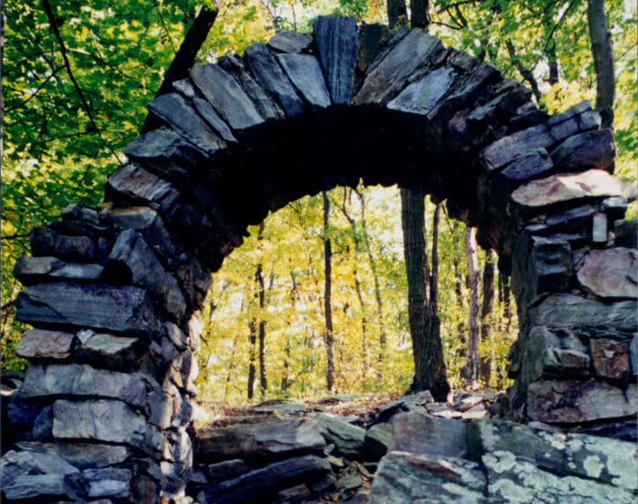 Stone arch at Gathland