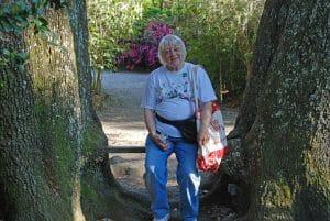 Mom at Magnolia Gardens