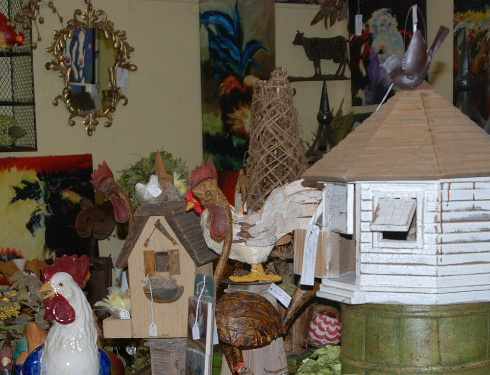 Antiques in Micanopy