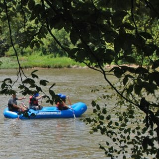 Kayaking the French Broad River