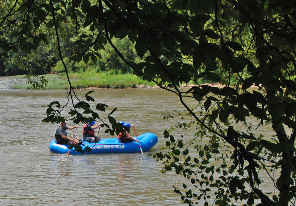 Rafting French Broad