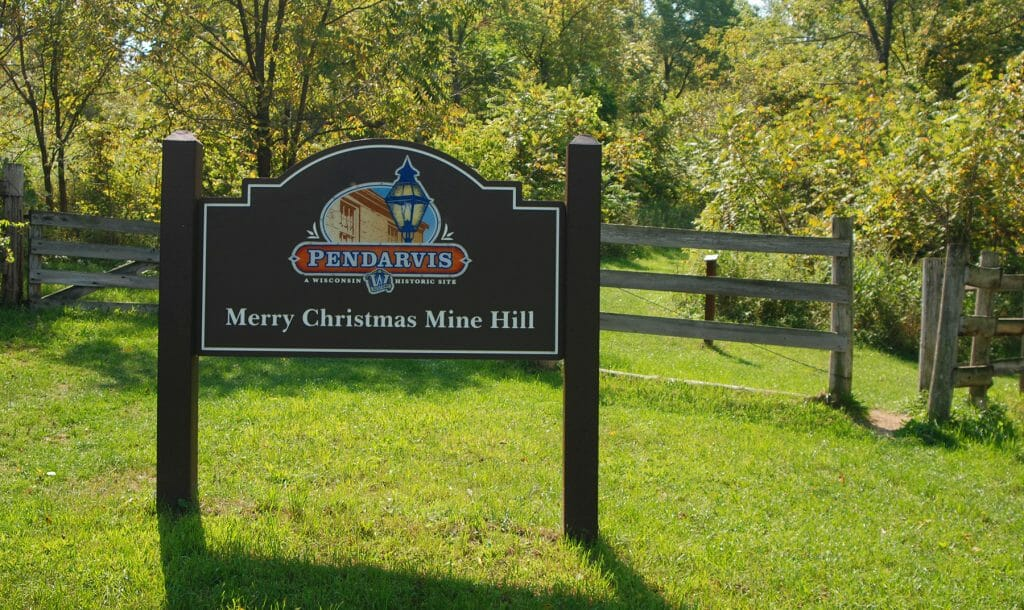 Trailhead for Merry Christmas Mine Hill