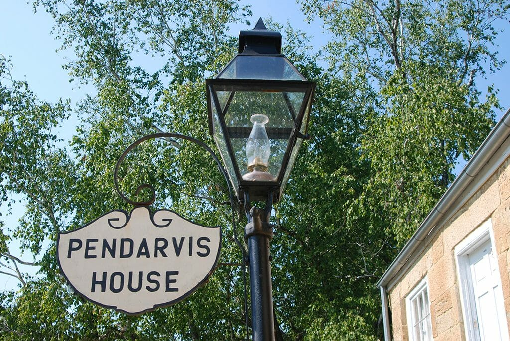 Pendarvis House sign