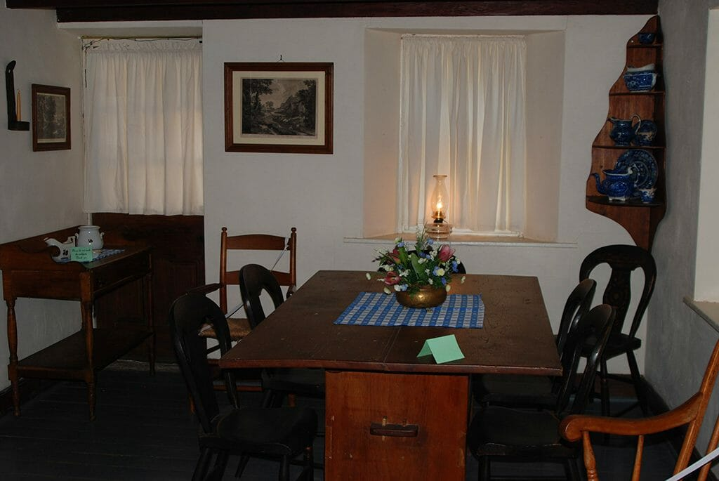 Inside Pendarvis House