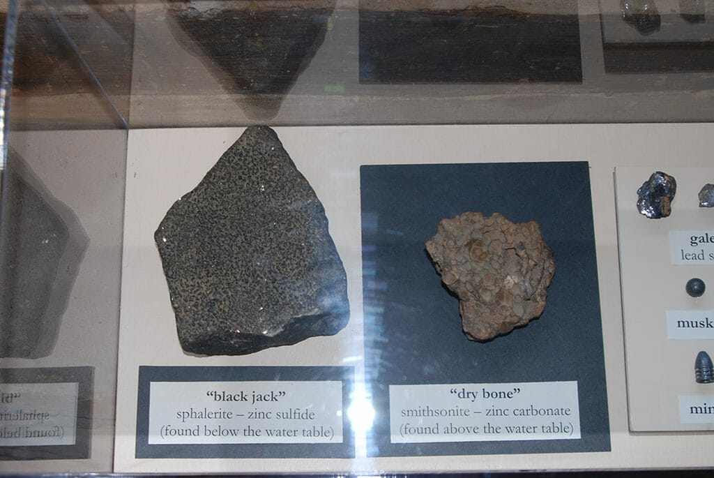 Minerals of Mineral Point