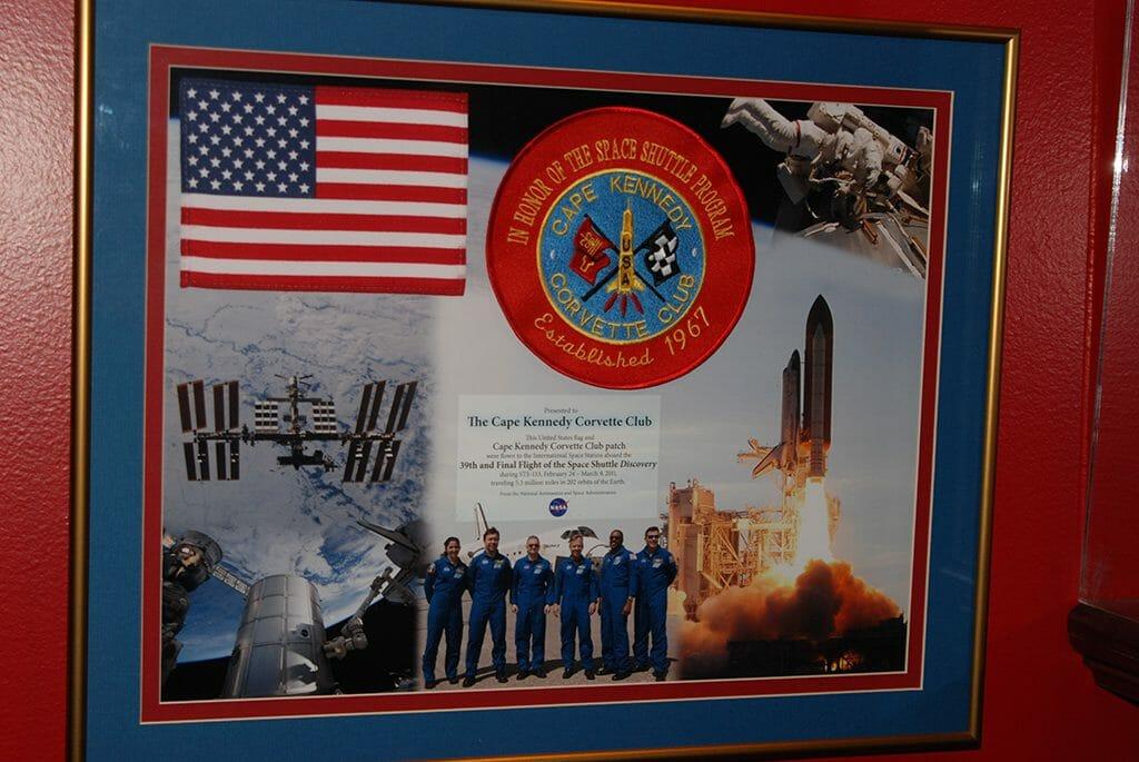 Cape Canaveral Corvette Club display