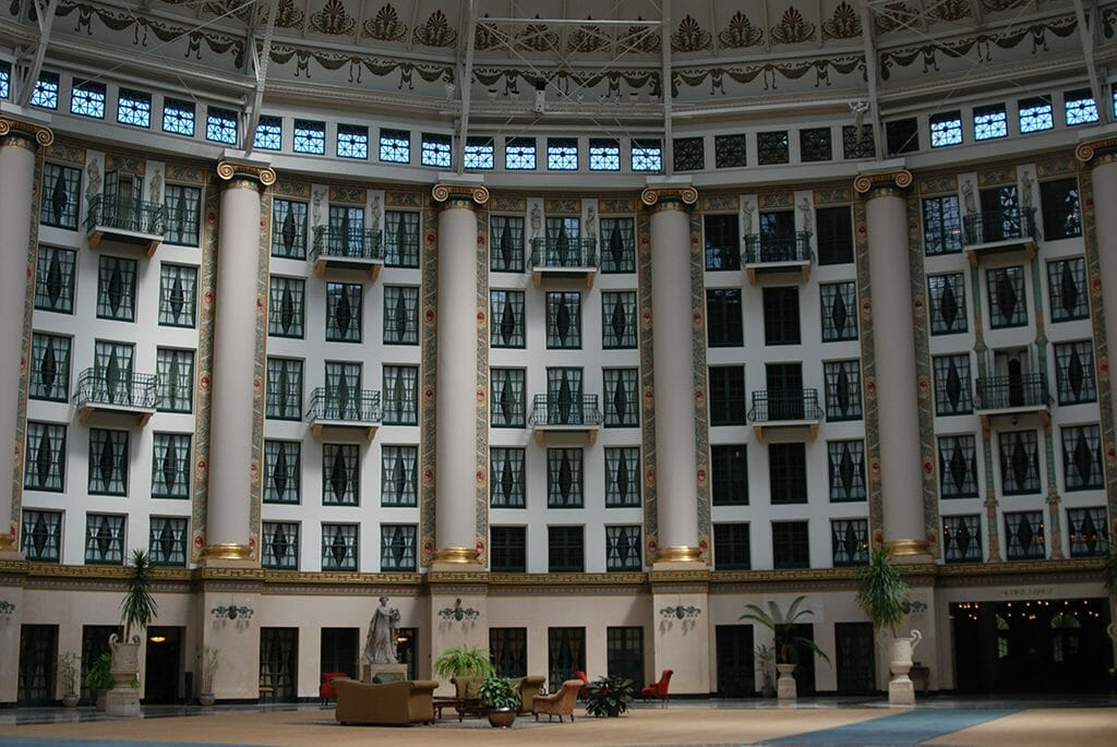 West Baden Hotel at French Lick