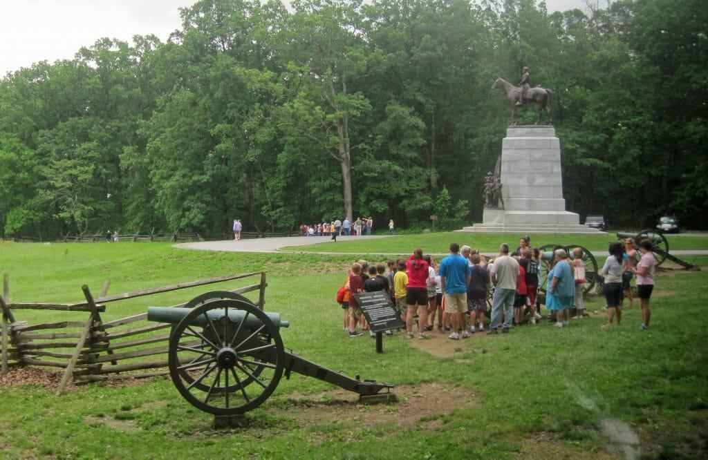 Gettysburg Battlefield tour group