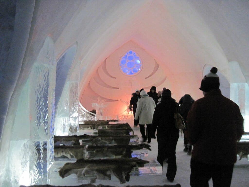 Ice chapel Hotel de Glace