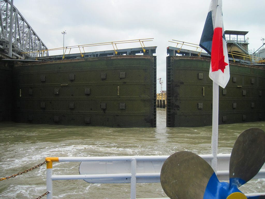 Panama Canal locks