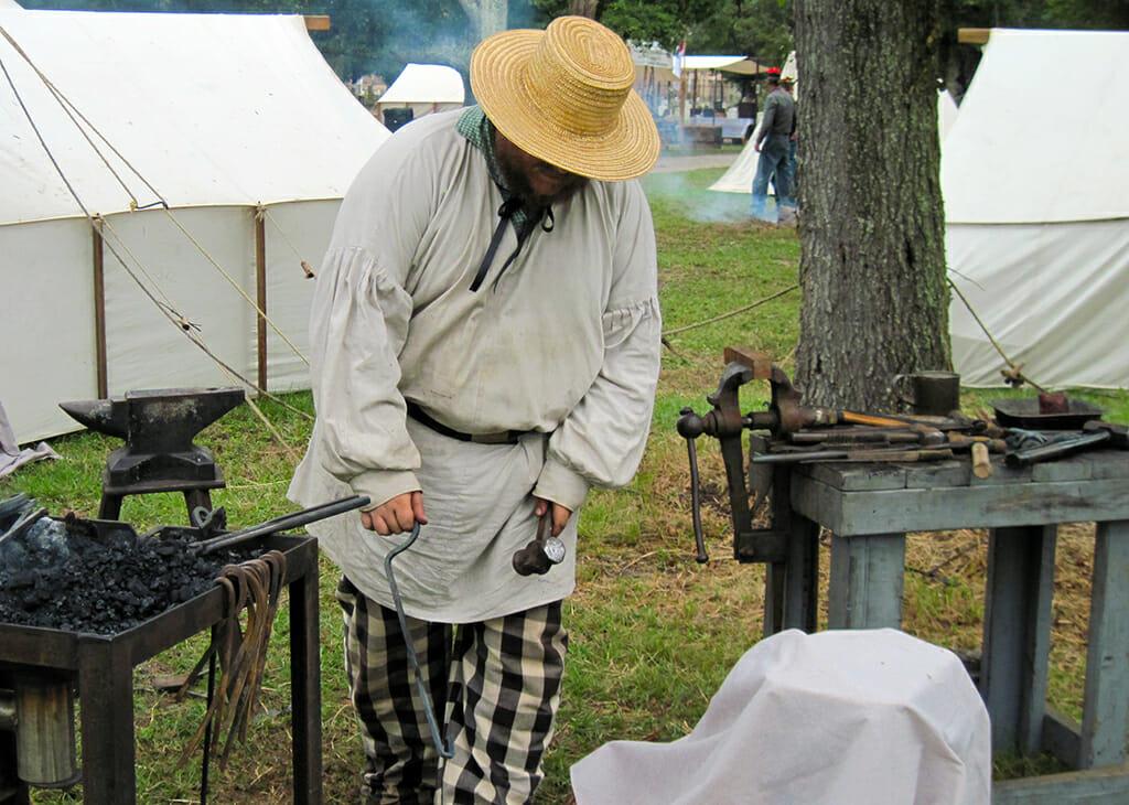 Blacksmith at Beauvoir