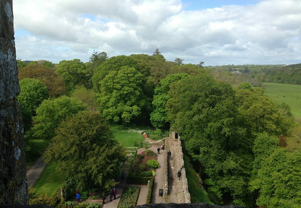 Blarney Castle view