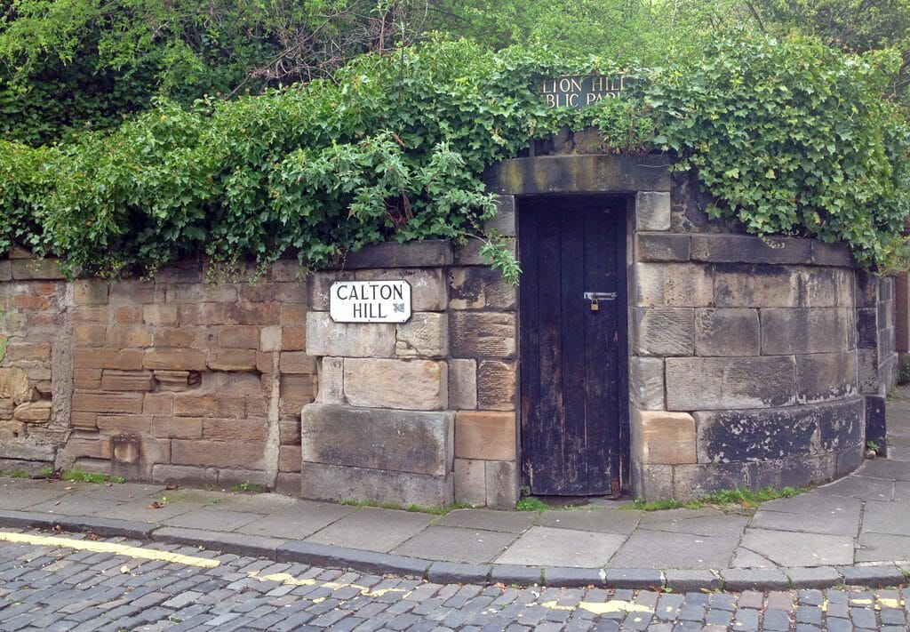 Calton Hill entrance