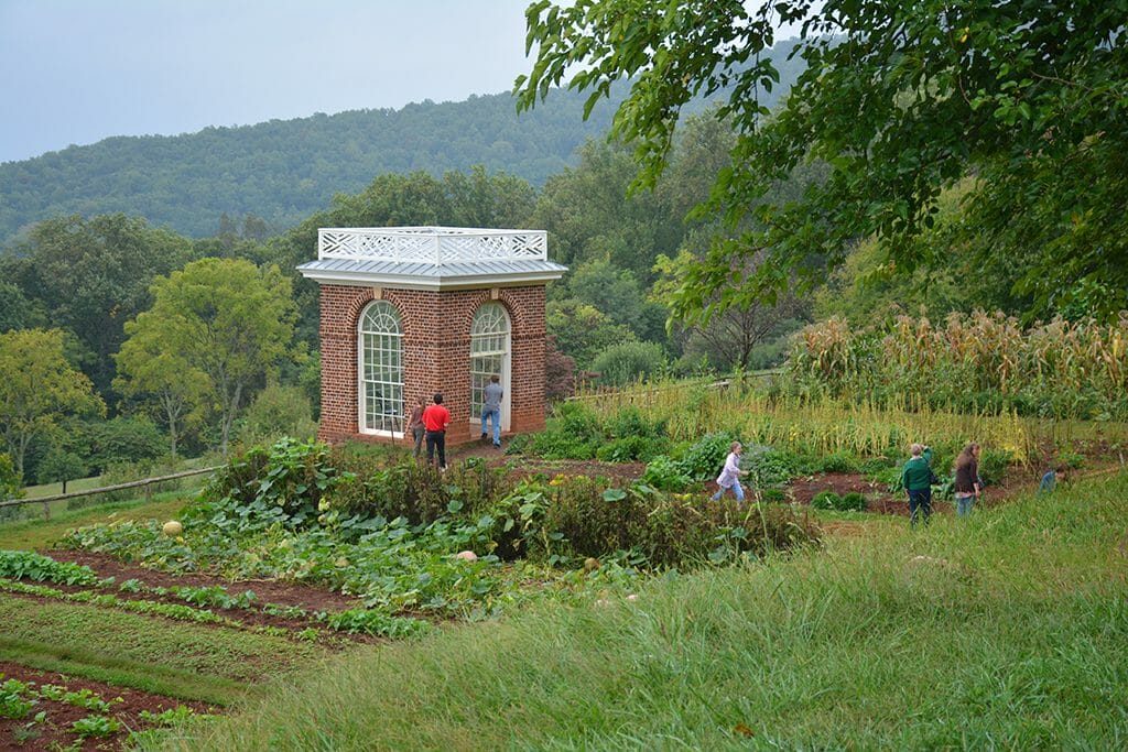 Mulberry Row at Monticello