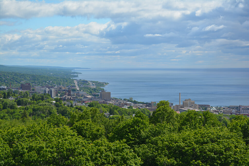 Duluth from Enger Tower