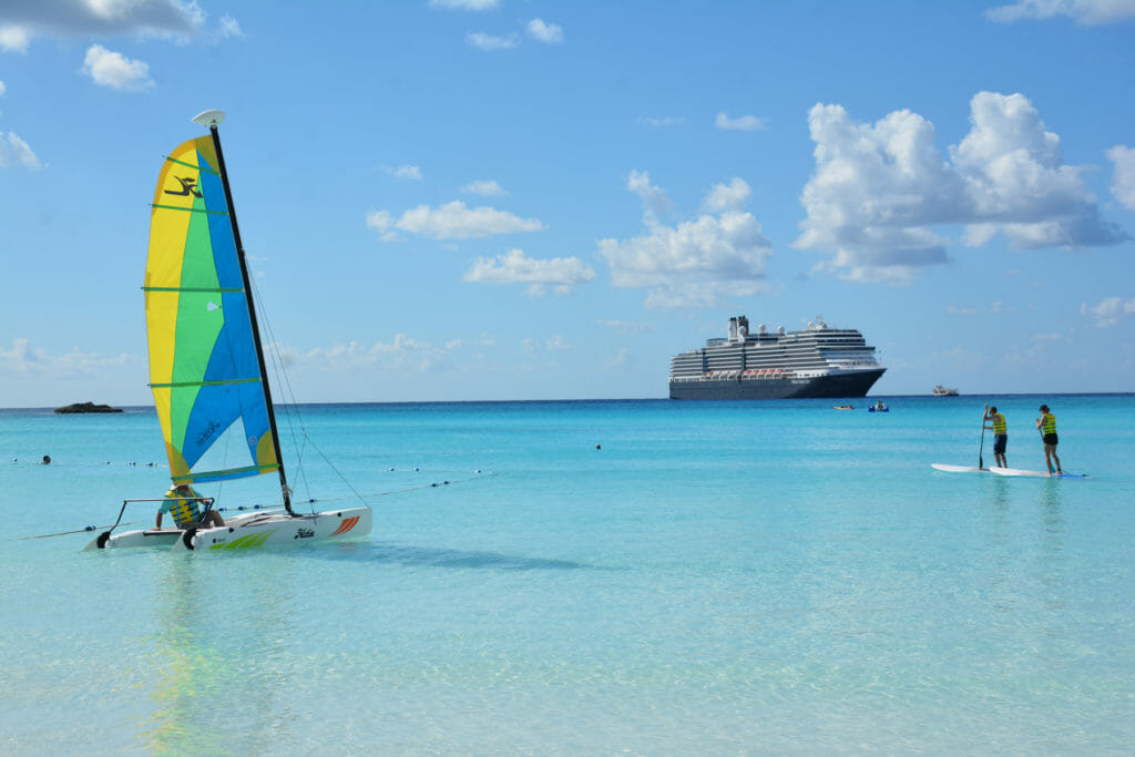 Half Moon Cay Hobie Cat