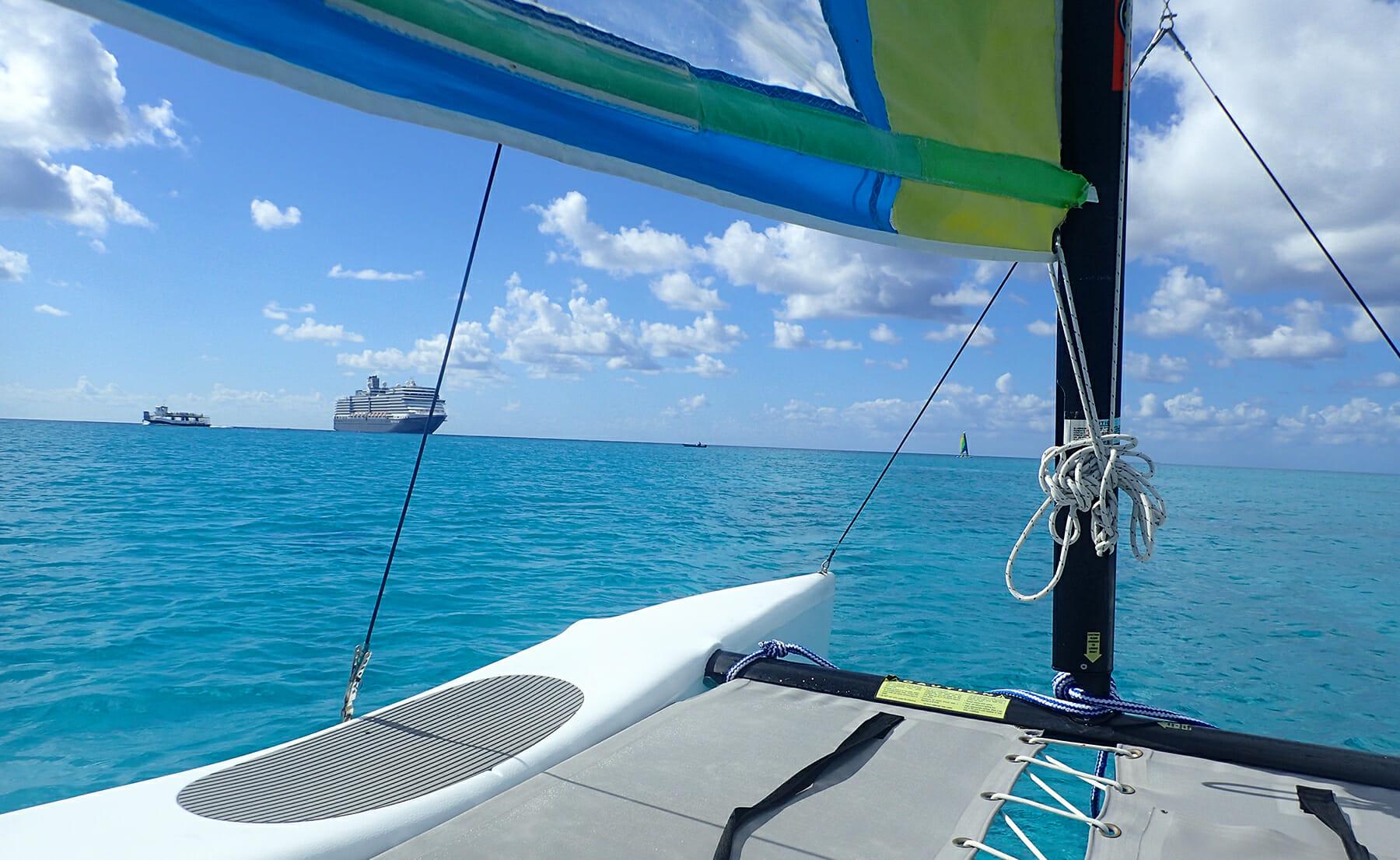 Island Triathlon on Half Moon Cay