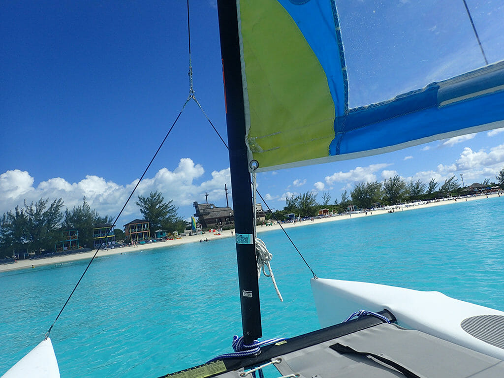 Hobie Cat Half Moon Cay