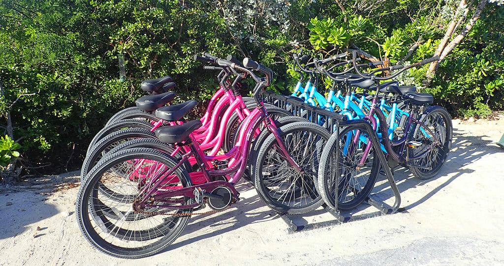 Bikes Half Moon Cay