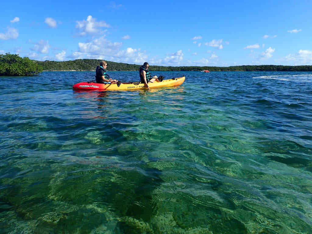 Kayak Half Moon Cay