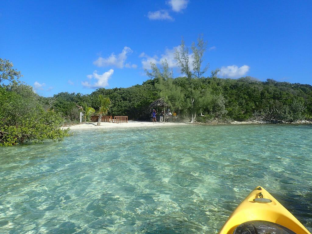 Paddling Half Moon Cay