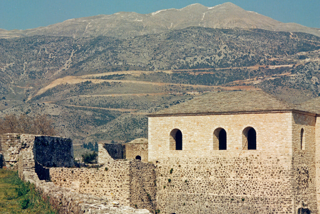 The fortress of Ali Pasha