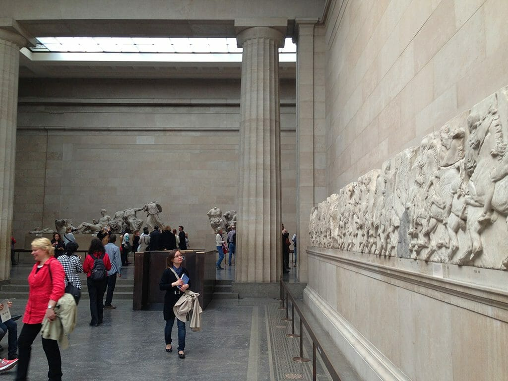 Inside the Parthenon Gallery