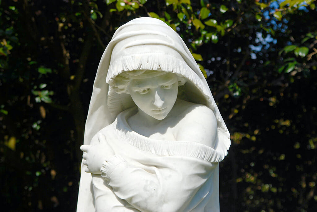 One of the Four Graces, at Middleton Place