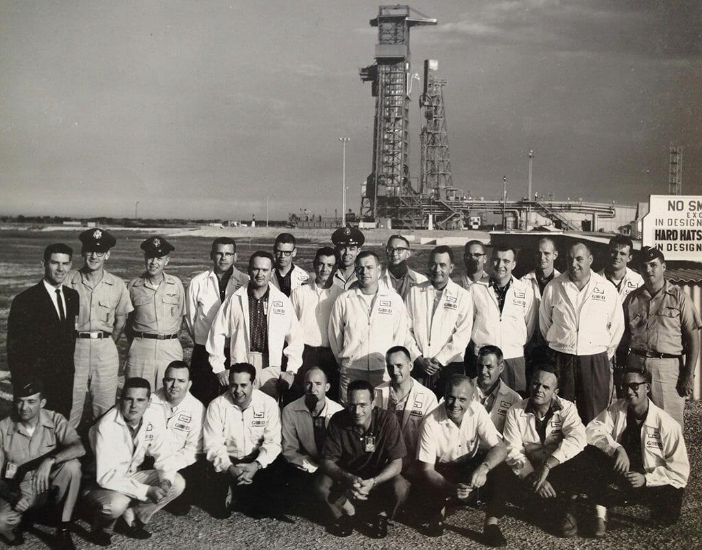 Mercury 7 launch team
