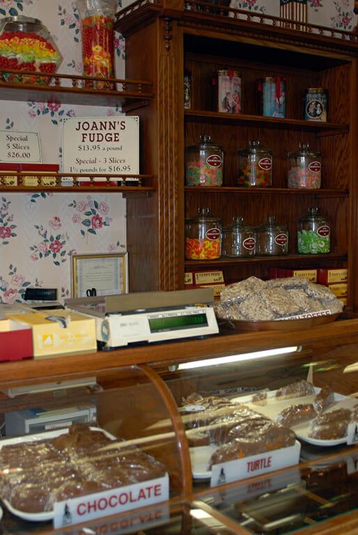 Tempting treats inside Joann's