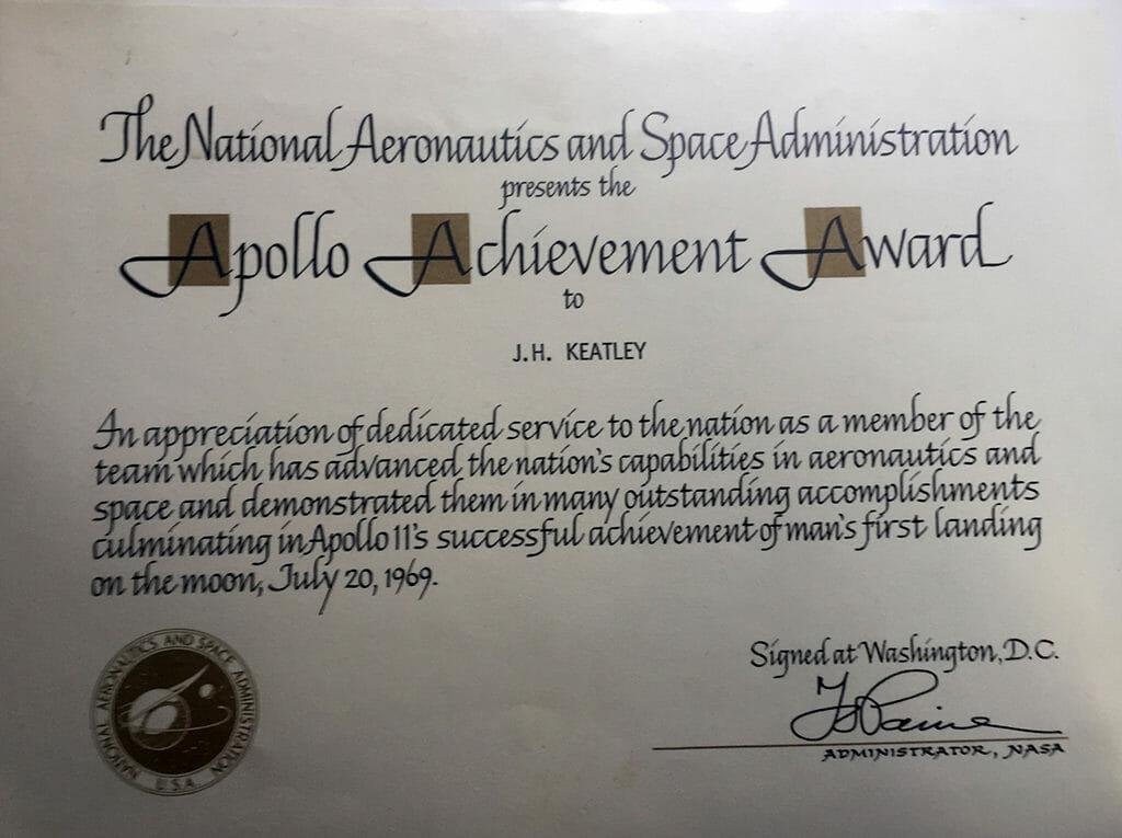 Apollo Achievement Award