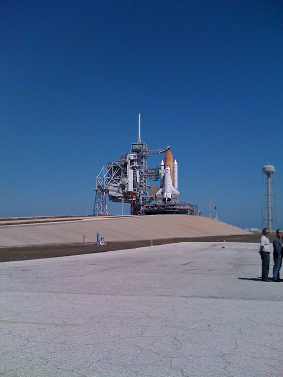 STS-131, Discovery (John Keatley)