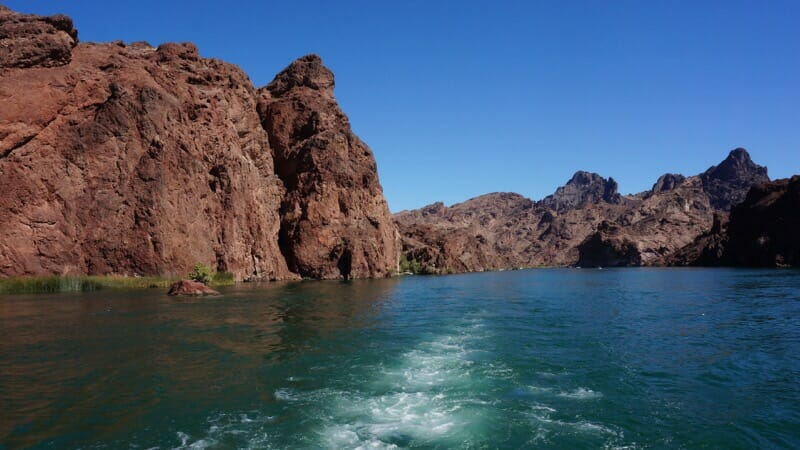 Topock Gorge on the Colorado River