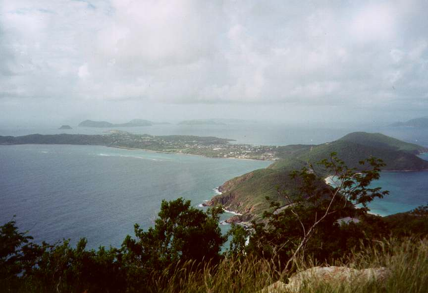 Virgin Gorda high point