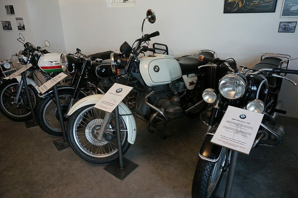 Vintage BMWs in Iceland