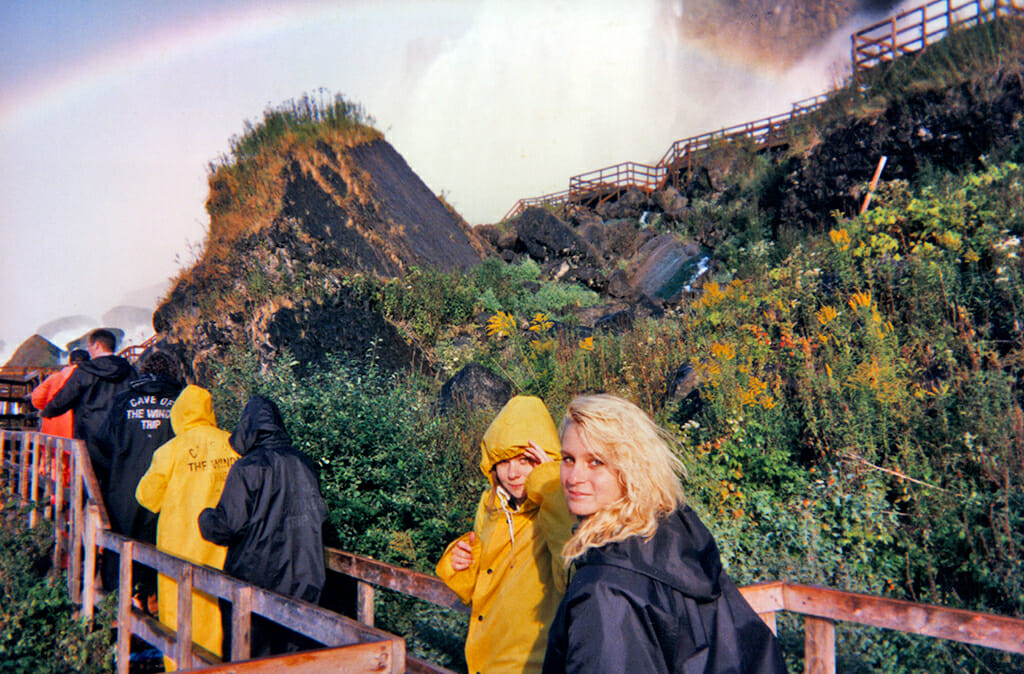 Three Sisters at Niagara Falls