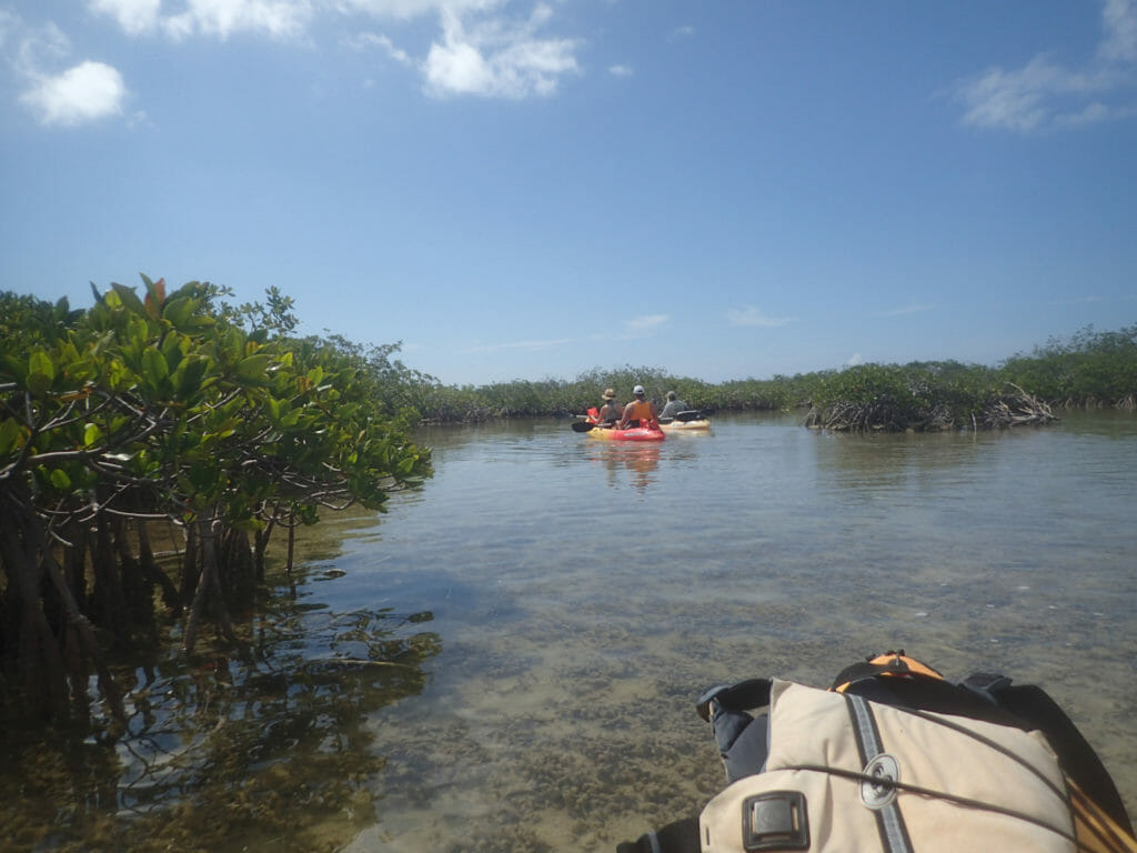 Paddling Florida Keys