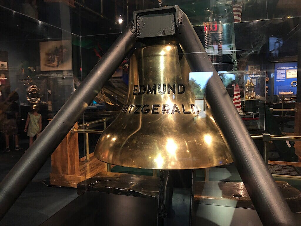 Ship's bell from the Edmund Fitzgerald