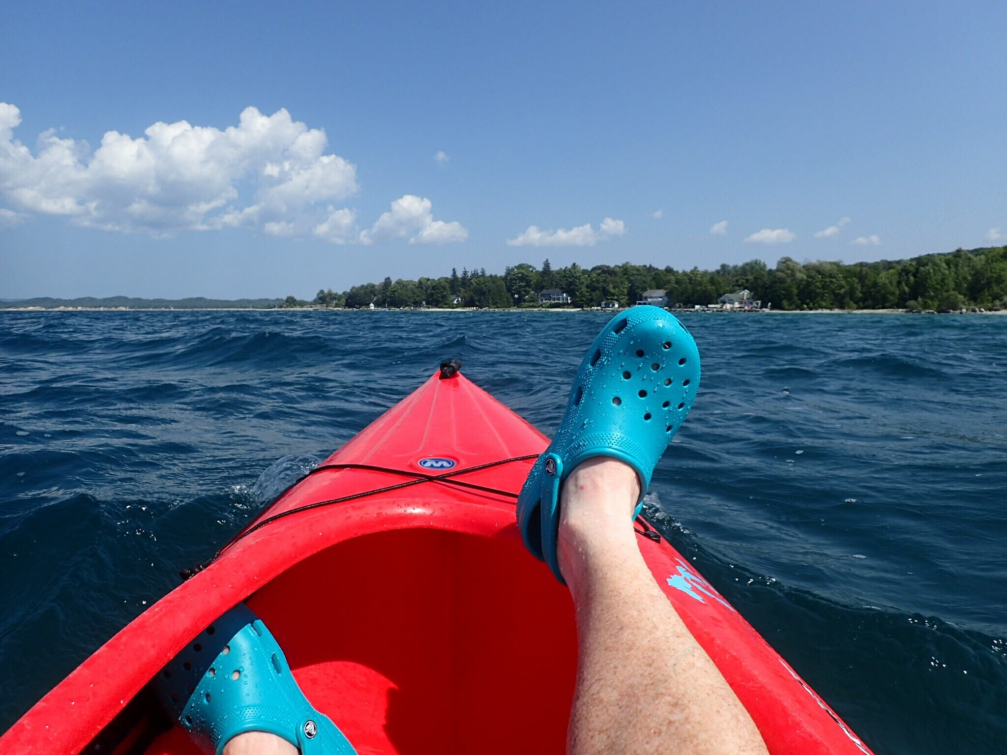 Kayak in Petoskey