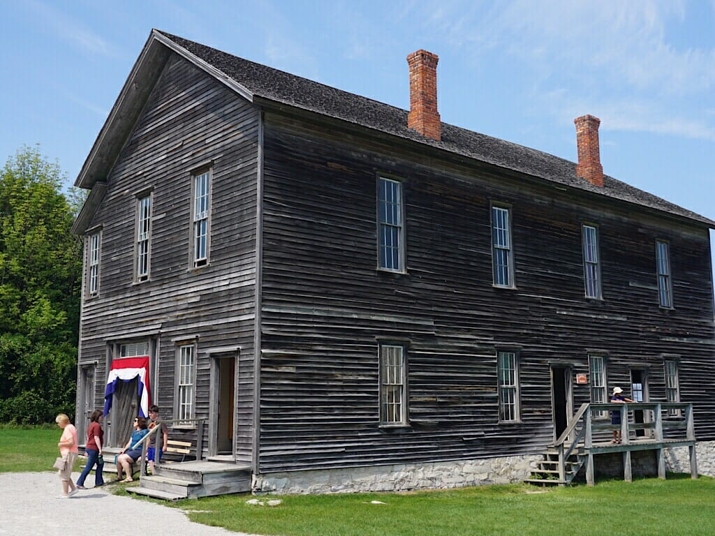 Fayette, Michigan historic site