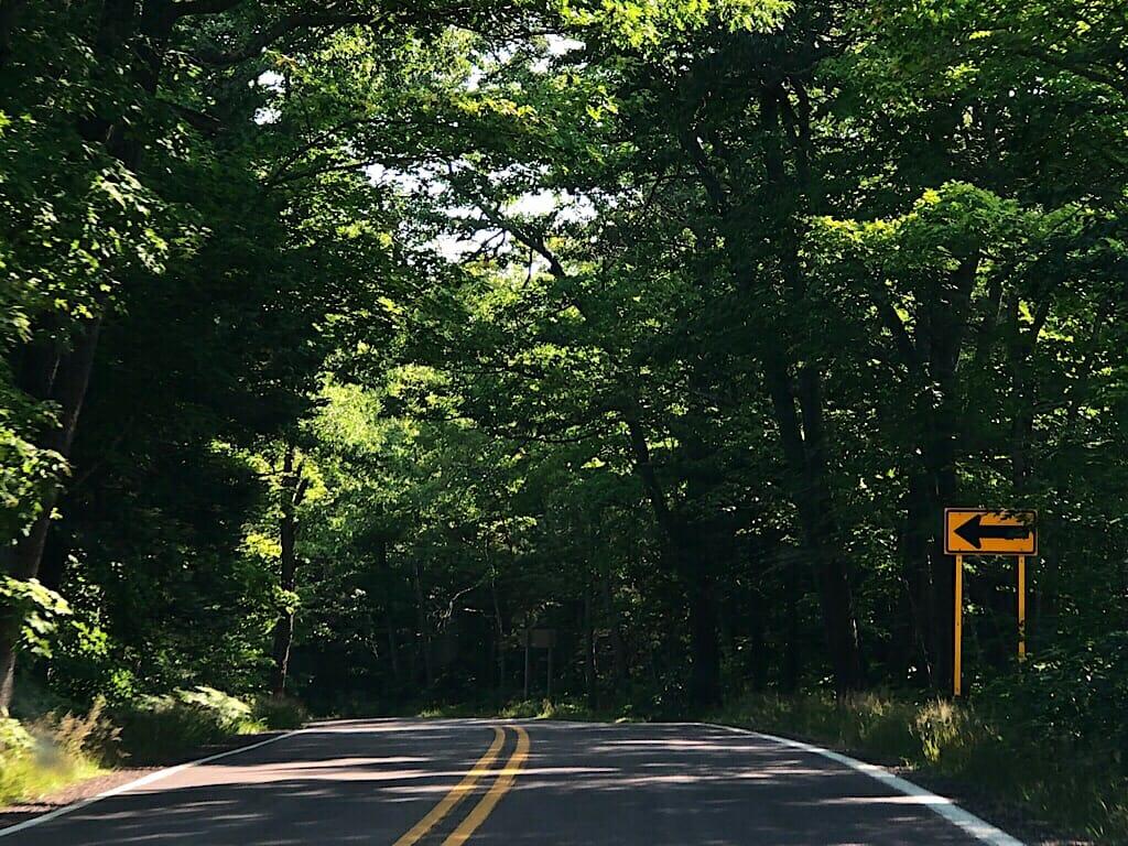 US 41 near Copper Harbor