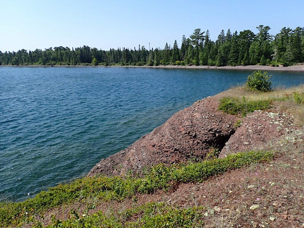 Beauty spot on Lake Superior