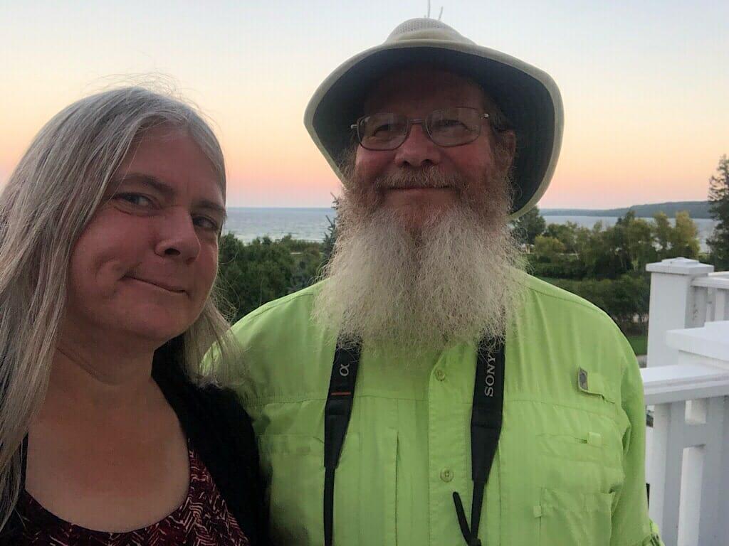 Sandra and John at Mission Point Resort