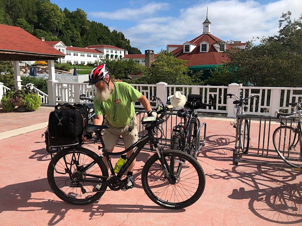 Mission Point Resort by bike