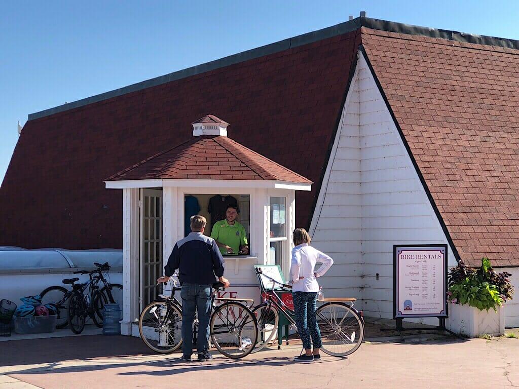 Mission Point Resort bikes