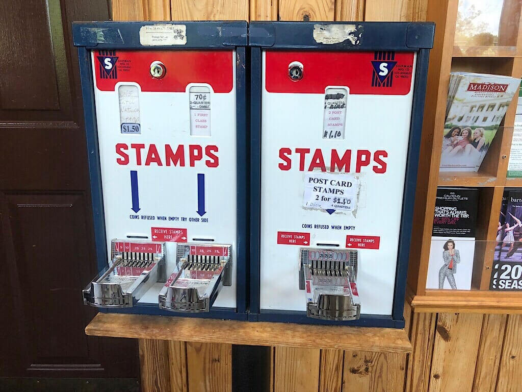 Rock City stamp machines