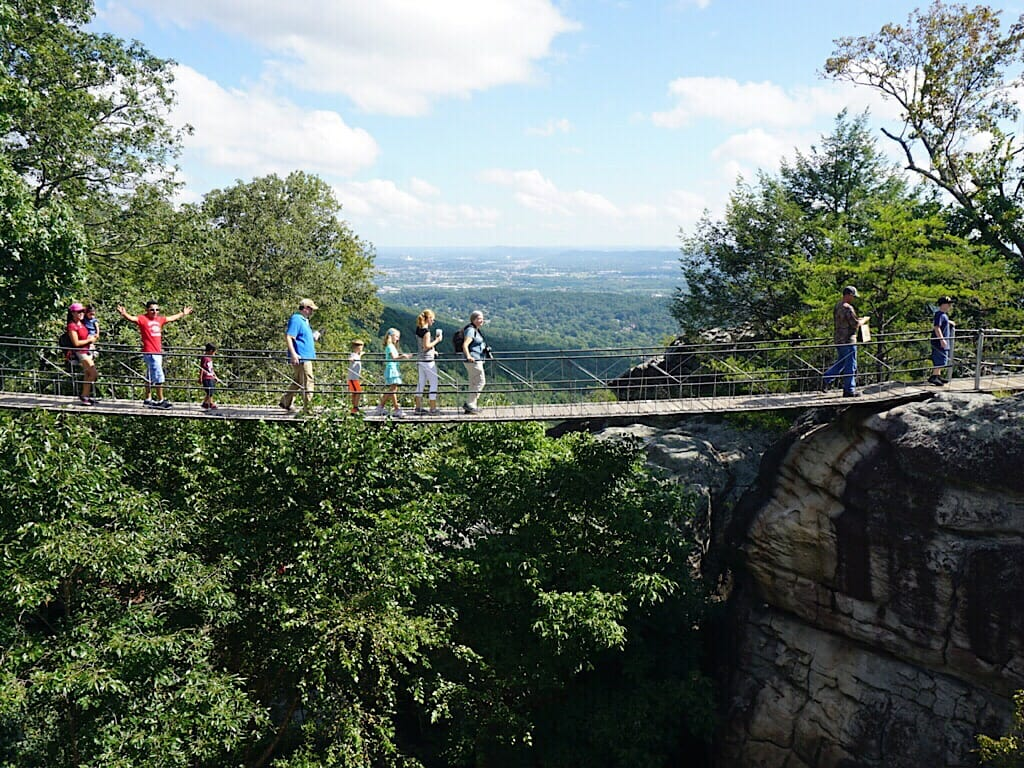 Rock City Swing-A-Long Bridge