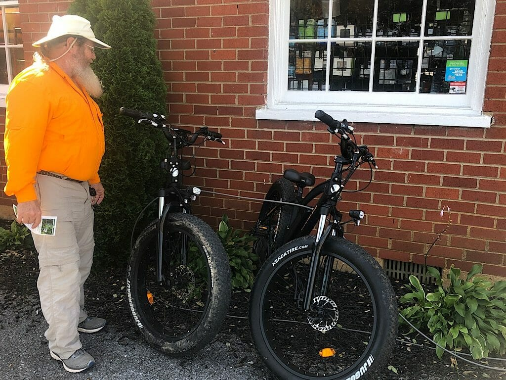 River and Peak Outfitters e-bike