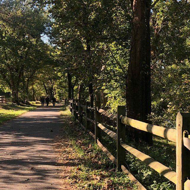Riding the Royal Shenandoah Greenway